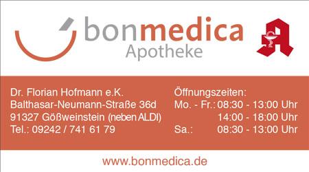Anzeige Bonmedica Apotheke