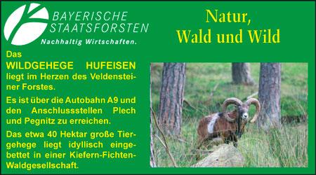 Anzeige Wildgehege Hufeisen