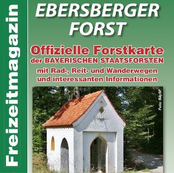 Verlag erstellt Gästemagazine und Freizeitmagazine: Titelausschnitt Freizeitmagazin Ebersberger Forst