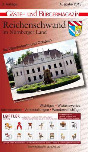 Titel Bürger- und Gästemagazin Reichenschwand