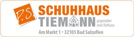 Anzeige Schuhhaus Tiemann Bad Salzuflen
