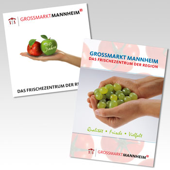 Titel Broschüren Großmarkt Mannheim