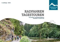 Titel Radwanderbroschüre RADFAHREN TAGESTOUREN, Fränkische Schweiz, Ausgabe 2020