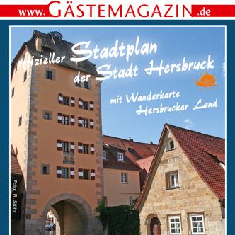 Titel Gästemagazin Hersbruck