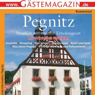 Titel Gästemagazin Pegnitz