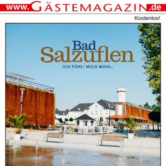 Titel Gästemagazin Bad Salzuflen