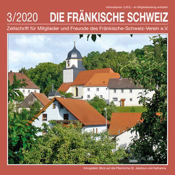 """Titel Zeitschrift """"Die Fränkische Schweiz"""" - 4/2019"""