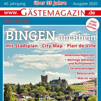 Titel Gästemagazin Bingen