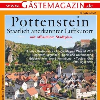 Titel Gästemagazin Pottenstein 2020/2021