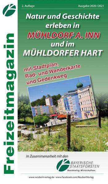 Titelseite Freizeitmagazin Natur und Geschichte erleben in Mühldorf a. Inn und im Mühldorfer Hart, Ausgabe 2020