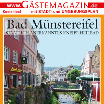 Titel Gästemagazin Bad Münstereifel