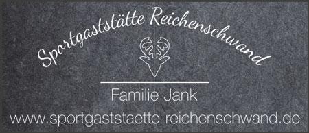 Banner Sportgaststätte Reichenschwand