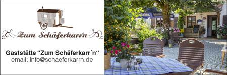 Banner Gaststätte zum Schäferkarrn