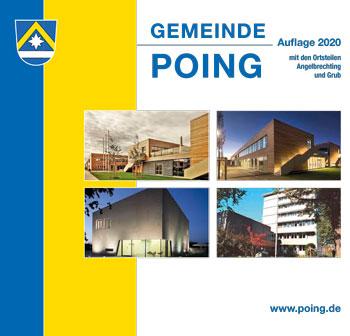 Unverbindlicher Titelentwurf für die Ortsbroschüre Poing 2020