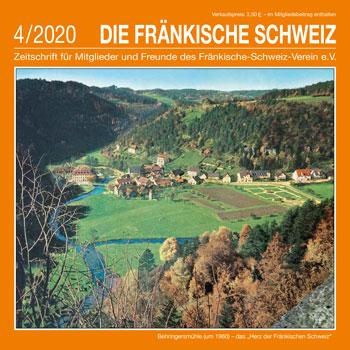 Titel 'Die Fränkische Schweiz' Heft 4/2020