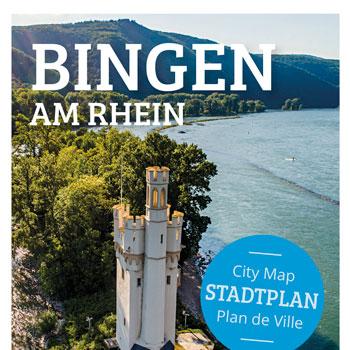 Verlag erstellt Gästemagazine und Freizeitmagazine: Titelausschnitt Gästemagazin Bingen am Rhein 2020