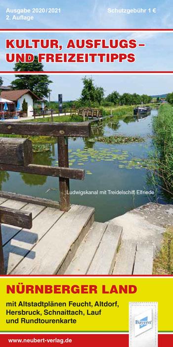 Freizeittipps Nürnberger Land Titel Ausgabe 2020