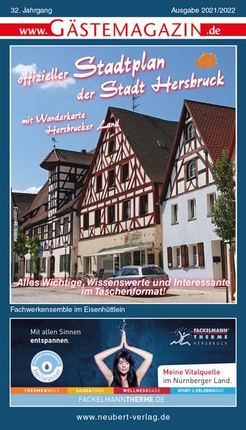 Titel Gästemagazin Hersbruck 2021/2022