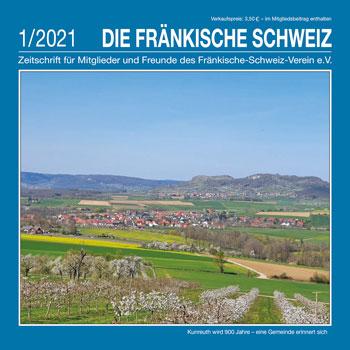 Titel 'Die Fränkische Schweiz' Heft 1/2021
