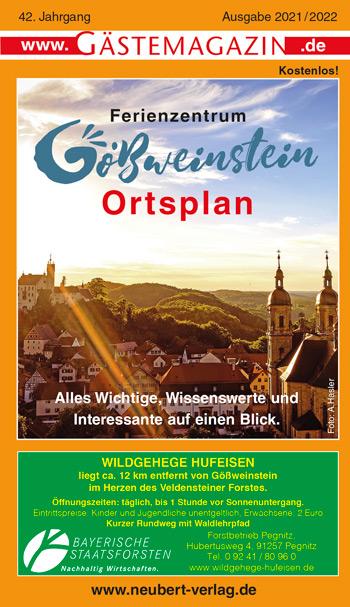 Titel Gästemagazin Gößweinstein Ausgabe 2021/2022