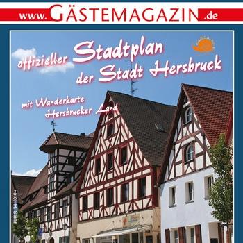 Verlag erstellt Gästemagazine und Freizeitmagazine: Titelausschnitt Gästemagazin Hersbruck