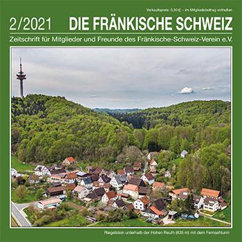 Titel Zeitschrift 'Die Fränkische Schweiz' Heft 2/2021