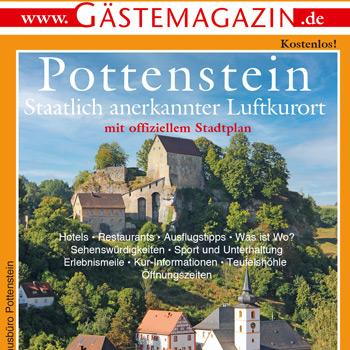 Titel Gästemagazin Pottenstein 2021/2022