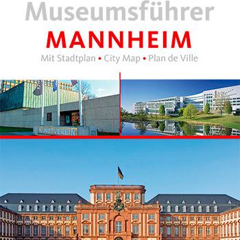 Verlag erstellt Gästemagazine und Freizeitmagazine: Titelausschnitt Museumsführer Mannheim