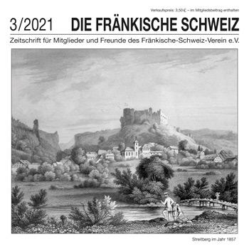 """Titel Zeitschrift """"Die Fränkische Schweiz"""" - 3/2021"""